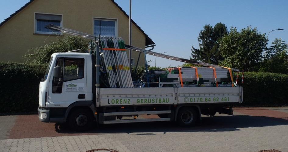 lorenz-geruestbau-firmenwagen